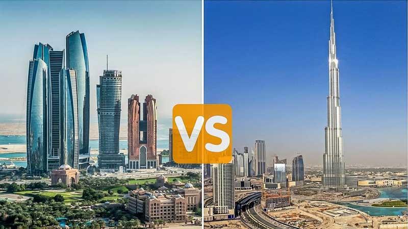 Dubai vs Abu Dhabi