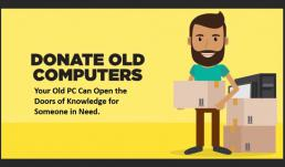 Where can I donate old laptops?